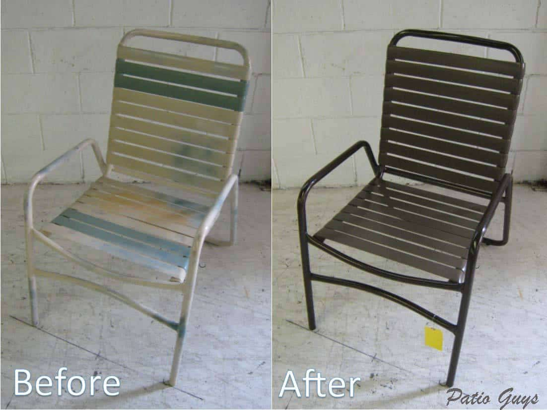 Allymont Before and After Sraight Strap Chair